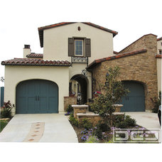 Mediterranean Exterior by Dynamic Garage Door