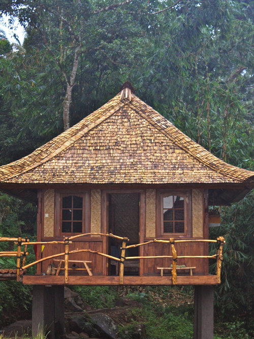 Bamboo Shingles Home Design Ideas Pictures Remodel And Decor