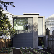 Modern Exterior by Three Legged Pig Design