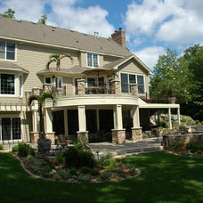Traditional Exterior by BellaWood Builders