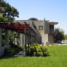 Contemporary Exterior by Strata Landscape Architecture