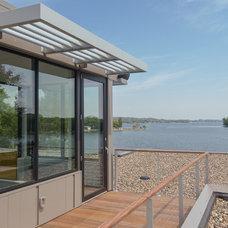 Modern Exterior by Rosenow | Peterson Design