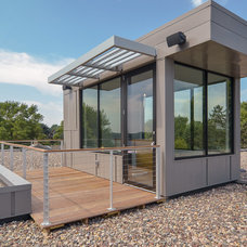 Contemporary Exterior by Rosenow | Peterson Design