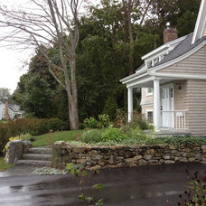 Traditional Exterior by Woodburn & Company Landscape Architecture, LLC