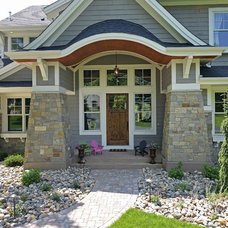 Craftsman Exterior by Habitat Architecture