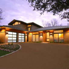 Contemporary Exterior by John Lively & Associates