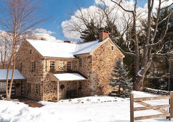 Farmhouse Exterior by Period Architecture Ltd.