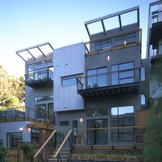 Contemporary Exterior by Mark Brand Architecture