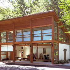 contemporary exterior by Eisner Design LLC