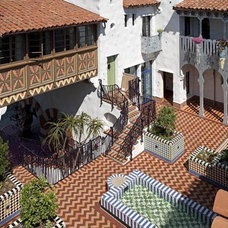 Mediterranean Exterior by Cabana Home