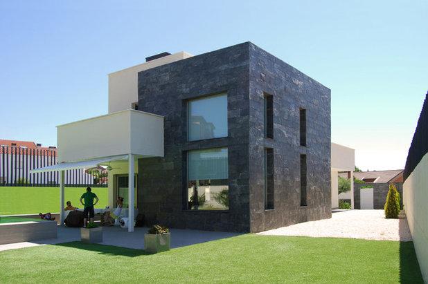 Contemporáneo Fachada by ACGP arquitectura