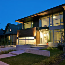 Contemporary Exterior by Alloy Homes Incorporated