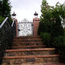 Traditional Exterior by Douglas C Lynn, LLC Landscape Architecture