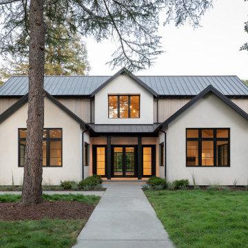 Warm Modern Exterior