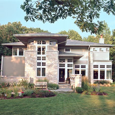 Contemporary Exterior by Morgante Wilson Architects