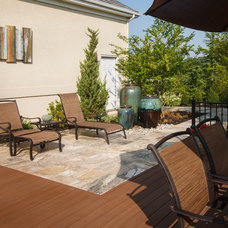 Mediterranean Deck by StoneMar Natural Stone Company LLC