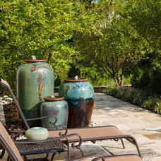 Mediterranean Landscape by StoneMar Natural Stone Company LLC