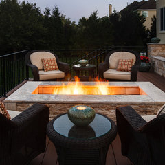 mediterranean patio by StoneMar Natural Stone Company LLC