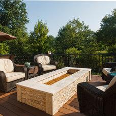 Mediterranean Deck by StoneMar Natural Stone Company LLC
