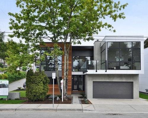 Best industrial exterior home design ideas remodel for Casas modernas llc west 12th street dallas tx