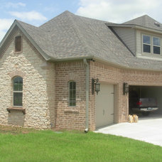 Traditional Exterior by Castlegate Homes by Chris grant