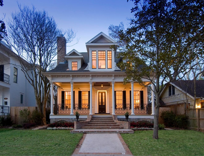 Victorian Exterior by Creole Design