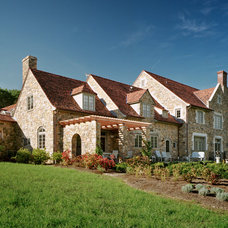 Traditional Exterior by Jay Greene Photography