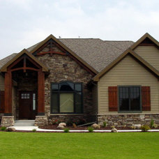 Traditional Exterior by LA Home Builders