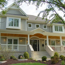 Traditional Exterior by Lakewest Builders, Inc.