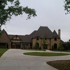 Traditional Exterior by Russell Construction
