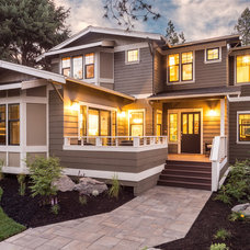 Traditional Exterior by Christian Gladu Design