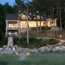 Traditional Exterior by Widing Custom Homes
