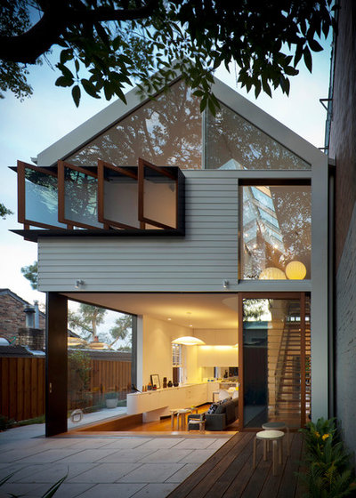 Contemporary Exterior by Christopher Polly Architect