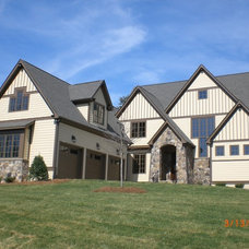 Craftsman Exterior by EDG PLAN COLLECTION