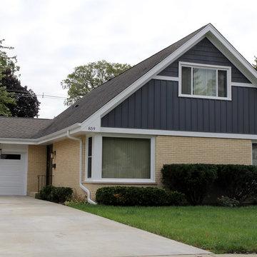 Elmhurst, IL Ranch Style Exterior Remodel