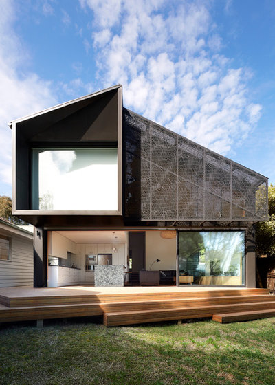 Contemporary Exterior by Julie Firkin Architects