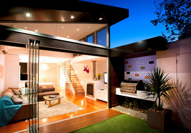 Contemporary Exterior by Sketch Building Design
