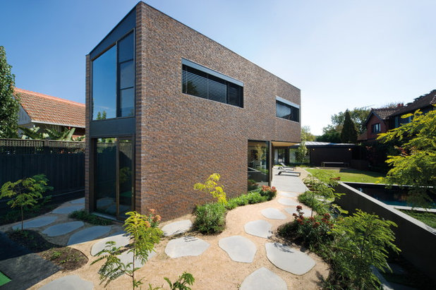 Contemporary Exterior by Brickworks Building Products