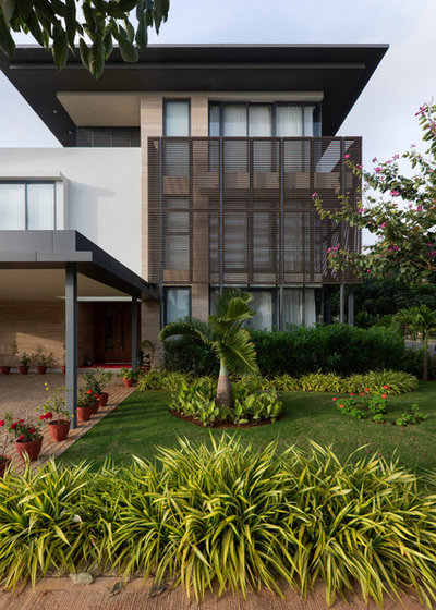 Contemporary Exterior by Shalini George Interiors
