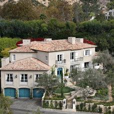 Mediterranean Exterior by Prestige Builders