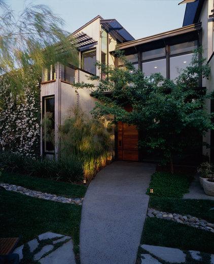 Contemporary Exterior by Drew Maran Construction