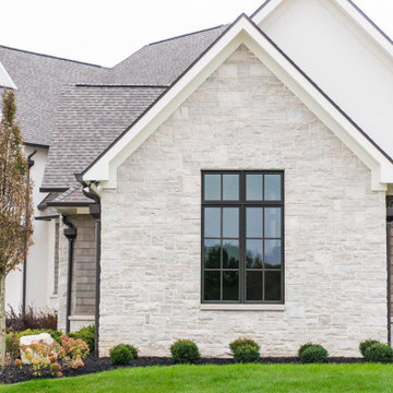 Empire Real Thin Stone Veneer Home Exterior Accent Wall