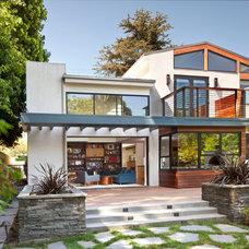 Contemporary Exterior by Linda Brettler Architect