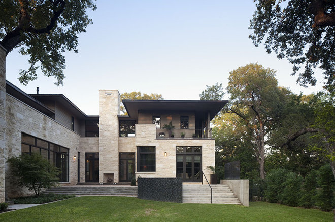 Contemporary Exterior by Jay Corder, Architect