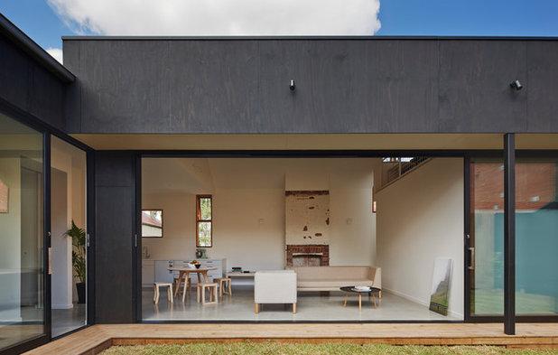 Modern Häuser By Black Line One X Architecture Studio