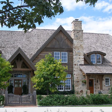 Traditional Exterior by Architectural Homes by Anders Inc