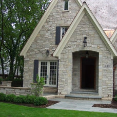 Traditional Exterior by Michael Buss Architects, Ltd