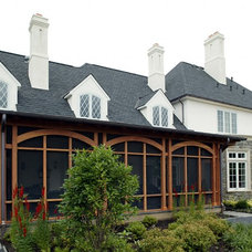 Traditional Exterior by Dewson Construction Company