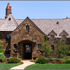 traditional exterior by Steve Trumbly  Designs