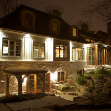 Traditional Exterior by Parkyn Design